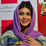 آزاده صمدی و بازیگران در اکران فیلم مهران مدیری