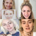 تصاویر جالب و غیرقابل باور افراد مشهور بدون آرایش