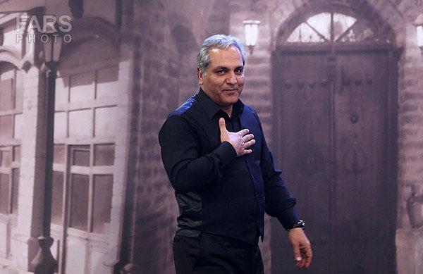 مهران مدیری در جشن حافظ