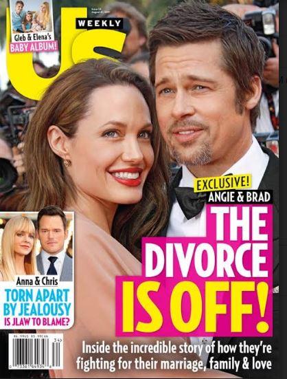 پشیمانی آنجلینا جولی و برد پیت از طلاق