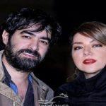 پریچهر قنبری ، همسر شهاب حسینی ، به سوگ پدر نشست