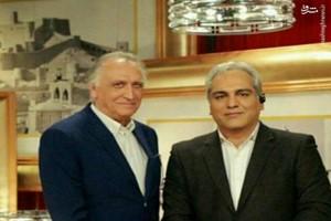 دورهمی مهران مدیری با احمد نجفی (کارآگاه علوی)
