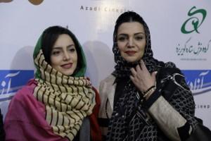 اکران مردمی فیلم مادری شب گذشته با حضور چهره های معروف در پردیس آزادی