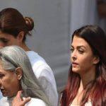 بازیگران هندی در مراسم خاکسپاری سری دیوی
