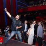 اکران فیلم چهارراه استانبول با حضور مهدی پاکدل و بهرام رادان و ماهور الوند