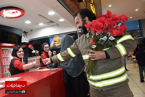 اکران چهارراه استانبول در کوروش