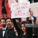 حرکت جسورانه بازیگر زن لبنانی-فرانسوی روی فرش قرمز جشنواره کن