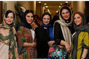 افتتاحیه سالن زیبایی مریم سلطانی با حضور بازیگران سرشناس!