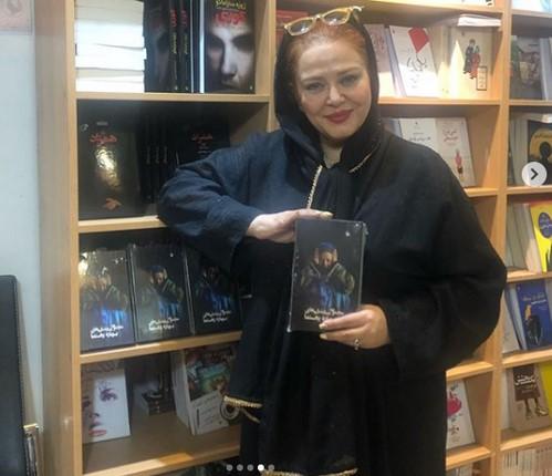 شیلا خداداد در نمایشگاه کتاب