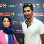 اکران فیلم سینمایی دشمن زن با حضور جوانه دلشاد با تیپ عجیب و جواد یساری