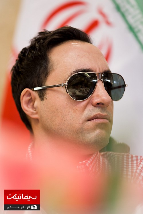 هنرمندان مشهور در نشست رسانه ای سریال ساخت ایران۲ در اعتراض به قاچاق