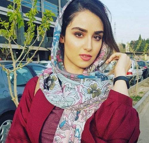 روسری هانیه غلامی