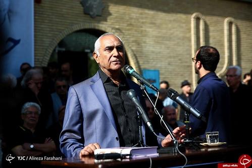 تشییع پیکر حسین عرفانی