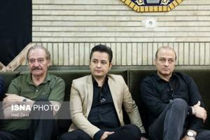 مراسم ختم حسین عرفانی با حضور چهره های مشهور