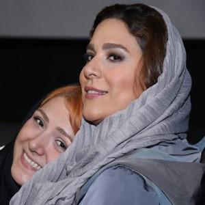 استایل زیبای سحر دولتشاهی و هدی زین العابدین در اکران مردمی فیلم عرق سرد!