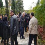 تصاویر مراسم تشییع پیکر احترام سادات حبیبیان ، مادر علیرضا داوودنژاد
