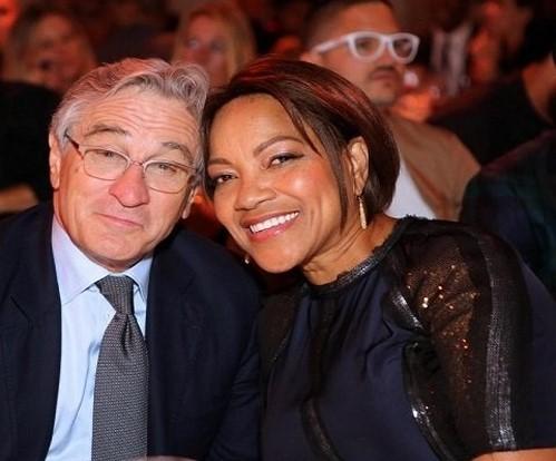 رابرت دنیرو و همسرش