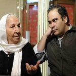 درگذشت احترام السادات حبیبیان ؛ مادربزرگ با استعداد رضا داوودنژاد
