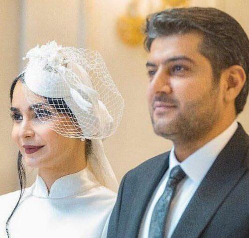 ازدواج مهدیه نساج ، بازیگر نقش مینو در سریال مینو