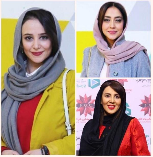 چهره های مشهور در اکران سریال هشتگ خاله سوسکه |از الناز حبیبی تا بهاره کیان افشار!