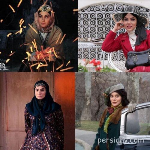 دردسرهای عمل های زیبایی بازیگران زن در سریال های تاریخی!