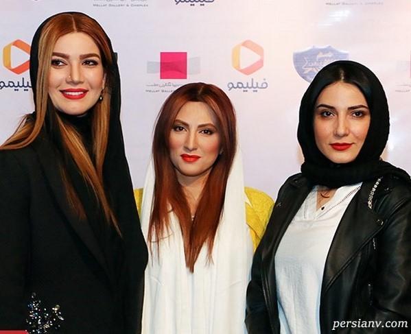 چهره های بسیار مشهور در مراسم افتتاحیه سریال رالی ایرانی ۲