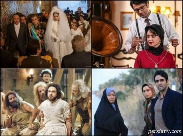 تصاویر جالبی از سوتی های سریالهای ایرانی و ماجراهای آن ها به بهانه گاف بازی تاج و تخت!