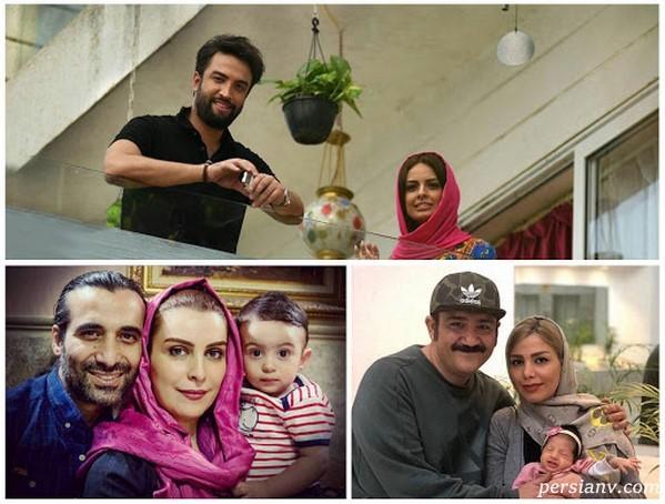 بچه دار شدن بازیگران مشهور در ایران   از بنیامین تا غفوریان!