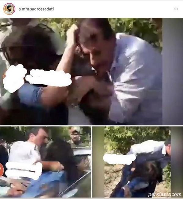 درگیری پلیس با دختر در تهرانپارس