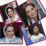 چهره ها در اکران خصوصی فیلم ایکس لارج | از سحر تا بهاره و همسر و دختر خوانده!