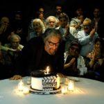 دورهمی هنرمندان مشهور در جشن تولد مسعود کیمیایی با سورپرایز مهرجویی!