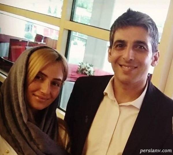 ازدواج حمید گودرزی و عکس آنها در کنار مژگان ترانه بازیگر سریال پدر
