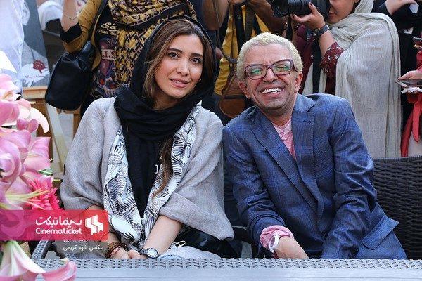 چهره های مشهور در مراسم تجلیل از جمشید هاشم پور در نوفل لوشاتو