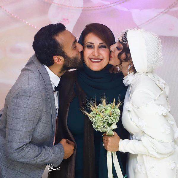 ازدواج پسر فاطمه گودرزی