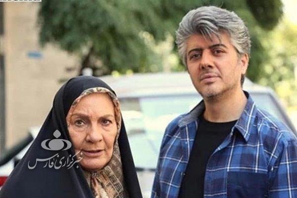 بازیگر نقش مهدی مظفری در ستایش