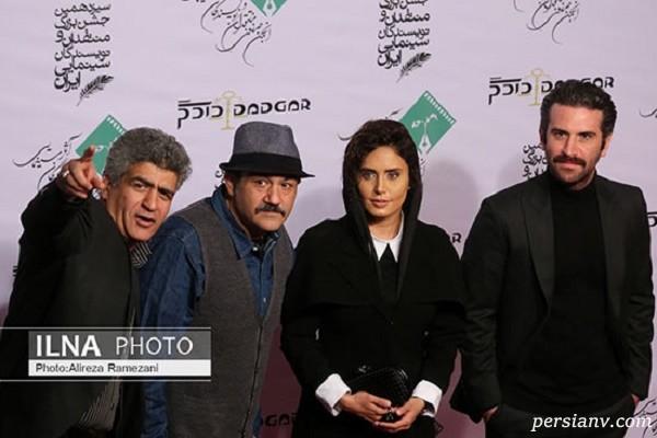 برگزیدگان جشن منتقدان سینما ؛ چهره های مشهور در محاصره عکاسان !
