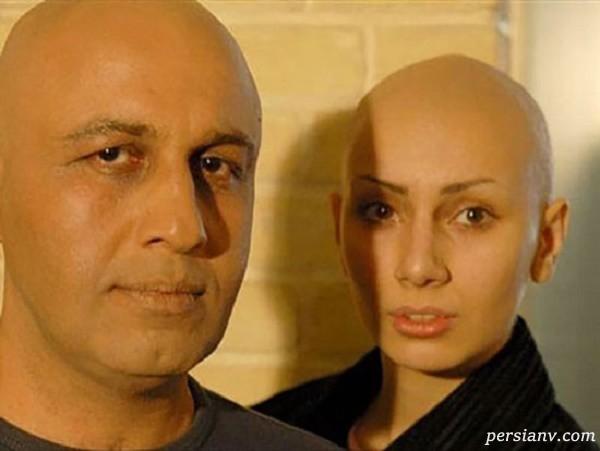 تراشیدن موی سر بازیگران زن