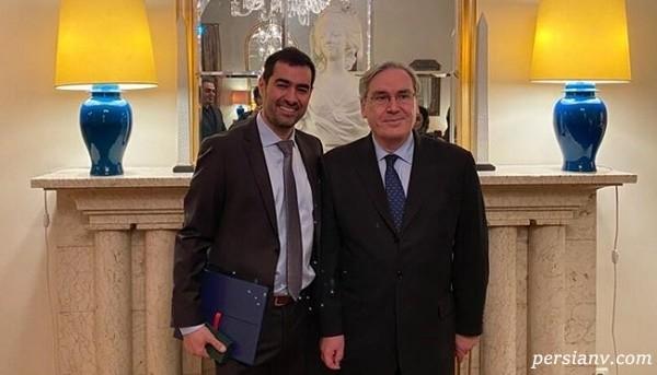 نشان شوالیه فرانسه به شهاب حسینی