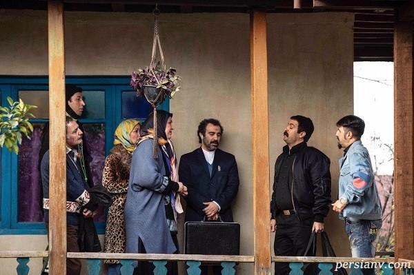 سوتی عجیب سریال پایتخت به روایت المیرا شریفی مقدم مجری صدا و سیما