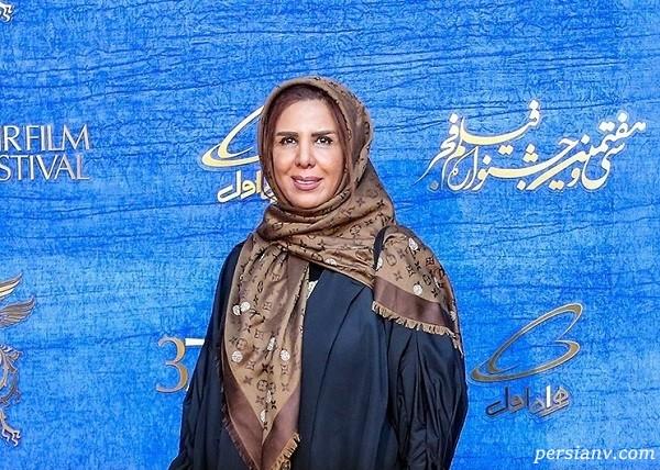 الهام غفوری و همسرش سیروس مقدم