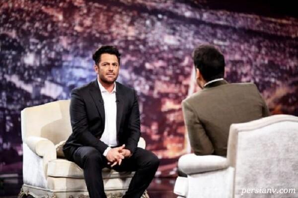 محمدرضا گلزار از ممنوع التصویری های تلویزیون