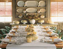 چیدمان میز ناهارخوری با اصول و قواعد پذیرایی شیک و مدرن ! + تصاویر
