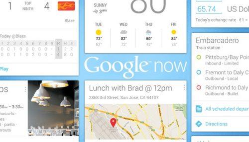 کار با Google Now