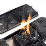 باتری موبایل و لپ تاپ و علایم انفجار آنها!