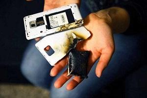 آتش گرفتن باتری گوشی   باتری گوشی ها به چه دلایلی آتش میگیرند و یا منفجر میشوند؟
