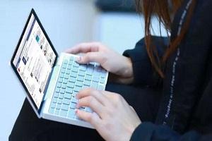 کوچکترین لپ تاپ دنیا را ببینید