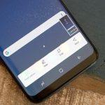 تهیه اسکرین شات با گلکسی S8