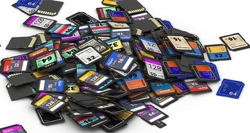 بازگردانی تصاویر حذفی کارت حافظه