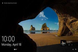 ذخیره تصاویر صفحه LOCK در ویندوز ۱۰
