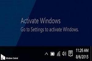 ترفندی برای حذف واترمارک Activate Windows در ویندوز ۱۰